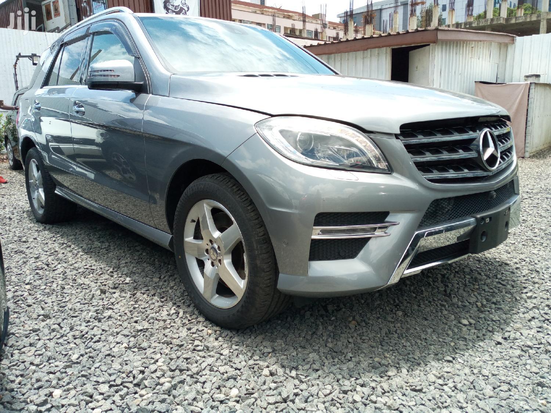Mercedes-Benz M Class 2014 Silver