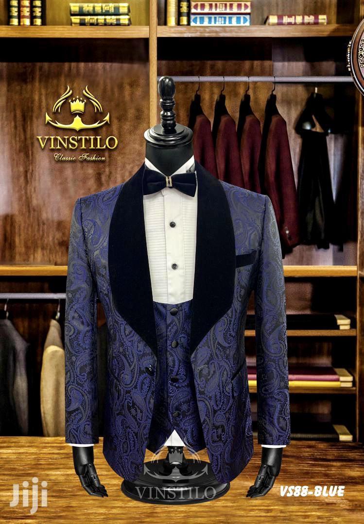 Italian Floral Tuxedo   Wedding Wear & Accessories for sale in Nairobi Central, Nairobi, Kenya