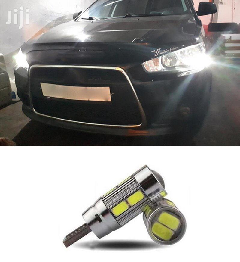 White 2X Parking Led Bulbs: For Toyota,Mitsubishi,Subaru,Mazda,Honda