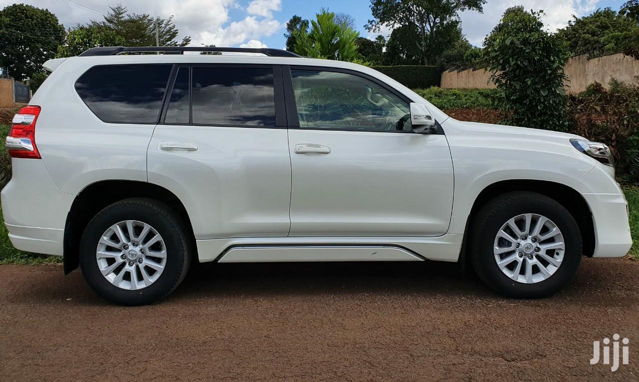 Toyota Land Cruiser Prado 2015 White   Cars for sale in Nairobi Central, Nairobi, Kenya