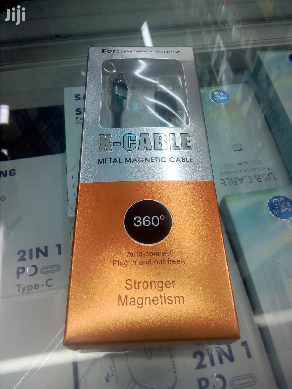 Magnetic Charging Cable | Accessories for Mobile Phones & Tablets for sale in Nairobi Central, Nairobi, Kenya