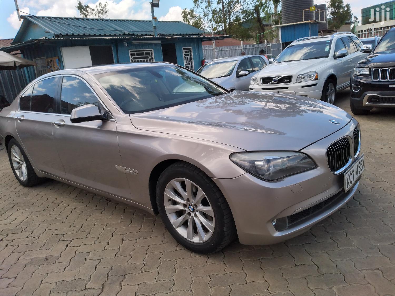 Archive: BMW 7 Series 2011 Beige