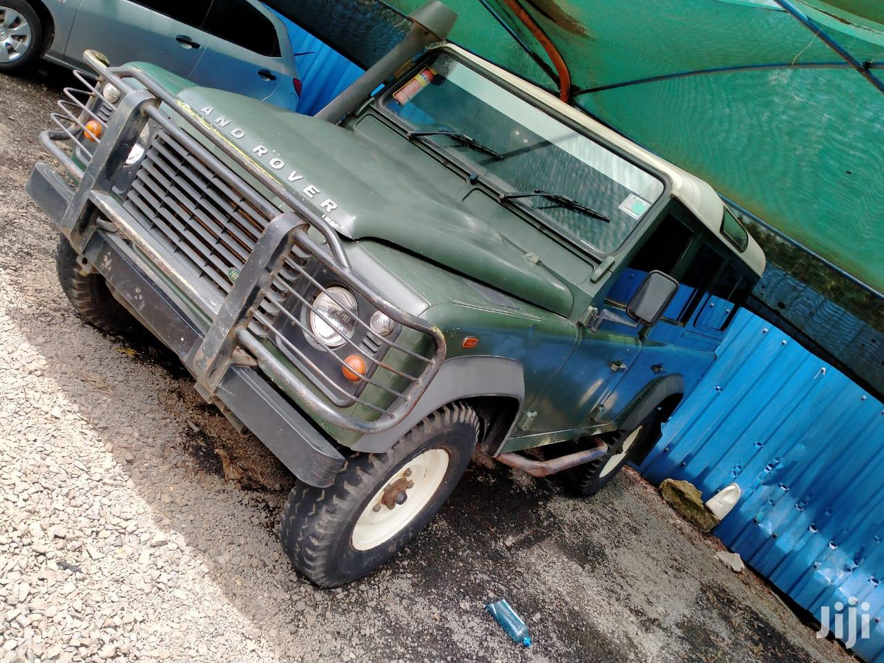 Archive: Land Rover Defender 2009 Puma 110 SW Green