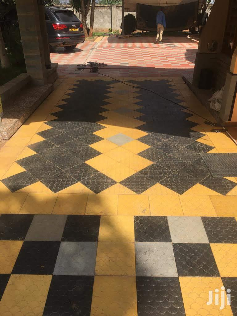 Supply And Fix Exterior Concrete Tiles