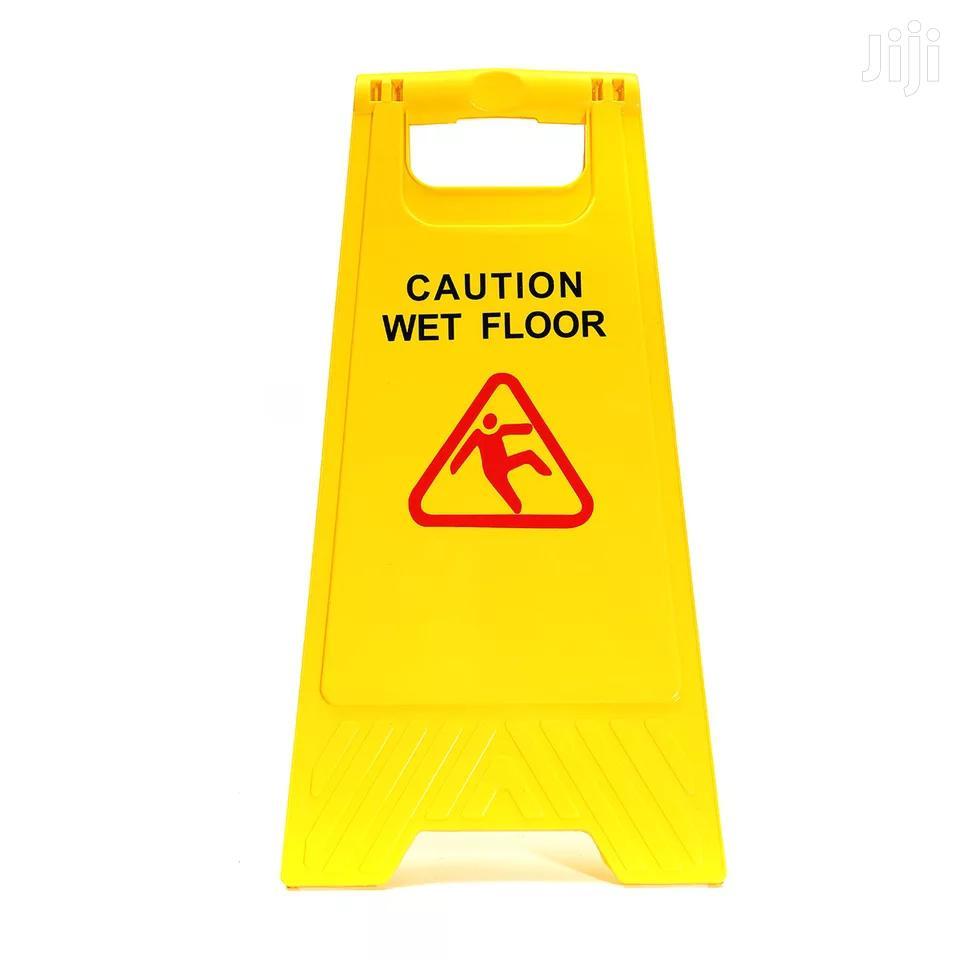 Caution Wet Floor Board | Safety Equipment for sale in Nairobi Central, Nairobi, Kenya