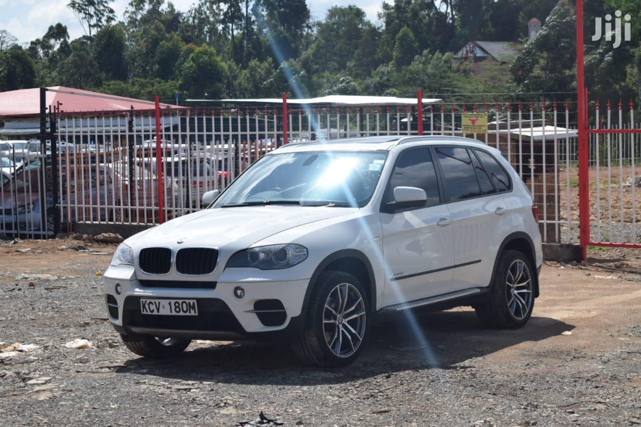 Archive: BMW X5 2012 White