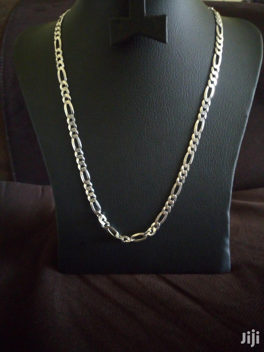 Pure Silver Chains For Men