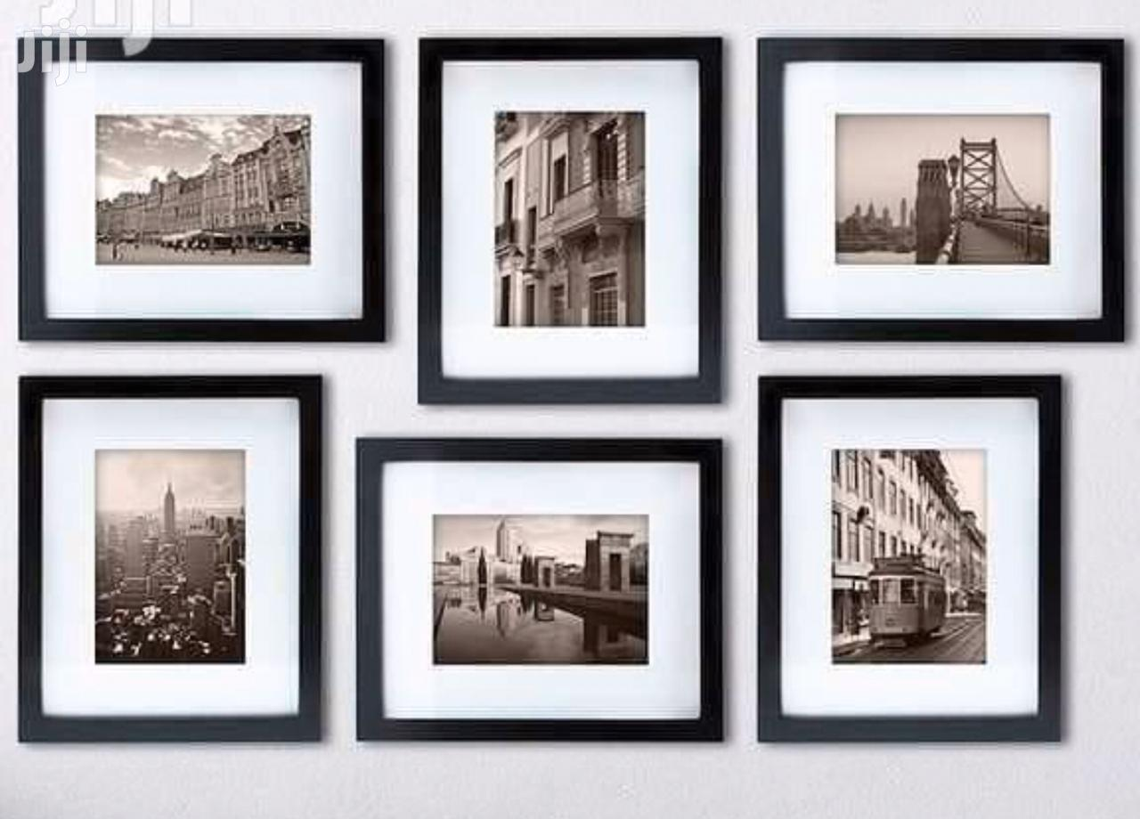 Super Dope Black Picture Frames All Sizes