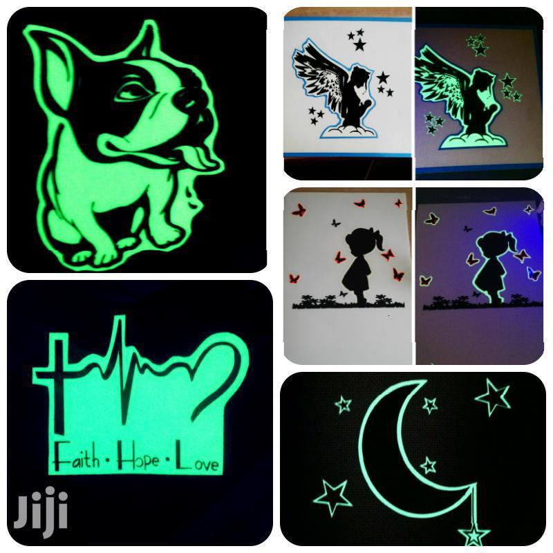 Glow In Dark Phone Stickers