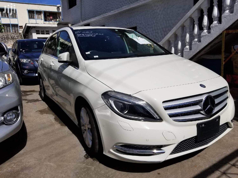 New Mercedes-Benz B-Class 2013 White | Cars for sale in Mvita, Mombasa, Kenya