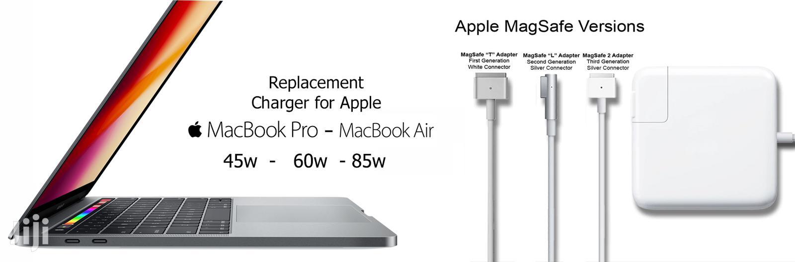 Macbook Chargers - 45w | 60w | 85w in Nairobi Central - Computer  Accessories , Macbook Repair Centre | Jiji.co.ke
