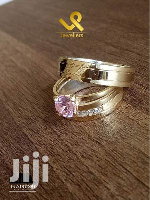 Custom Made Couple 14k Gold N Silver Fusion Wedding Ring   Wedding Wear & Accessories for sale in Nairobi, Nairobi Central