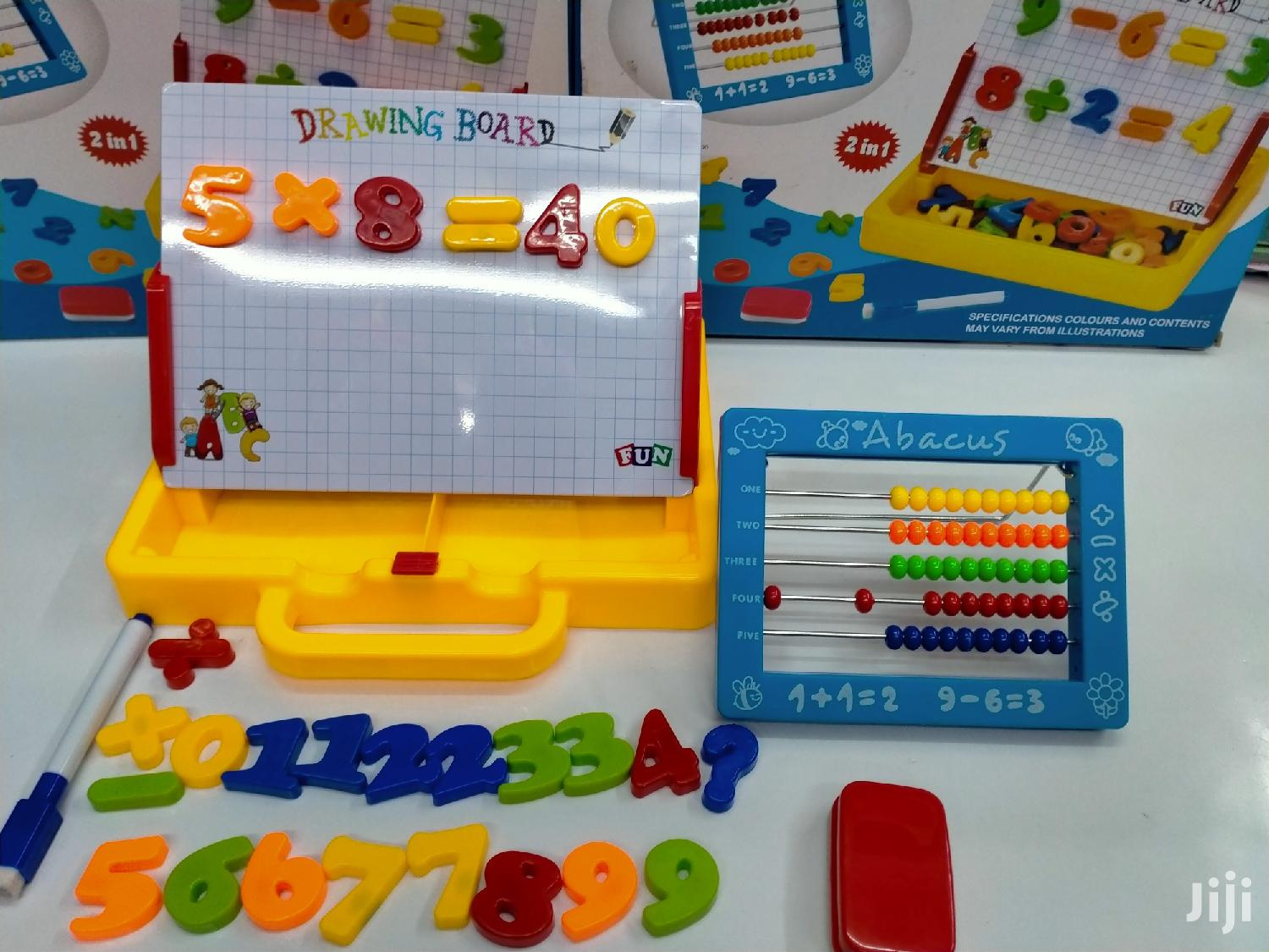 Magnetic Learning Board and Abacus | Toys for sale in Nairobi Central, Nairobi, Kenya