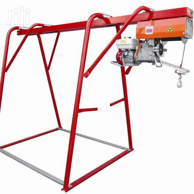 For HIRE: SET; Concrete Crane/Hoist