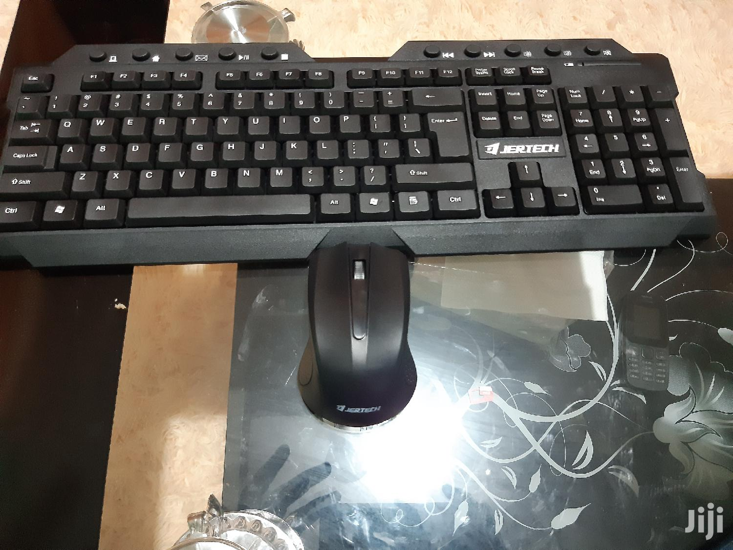 Jertech Wireless Gaming Keyboard Plus Mouse