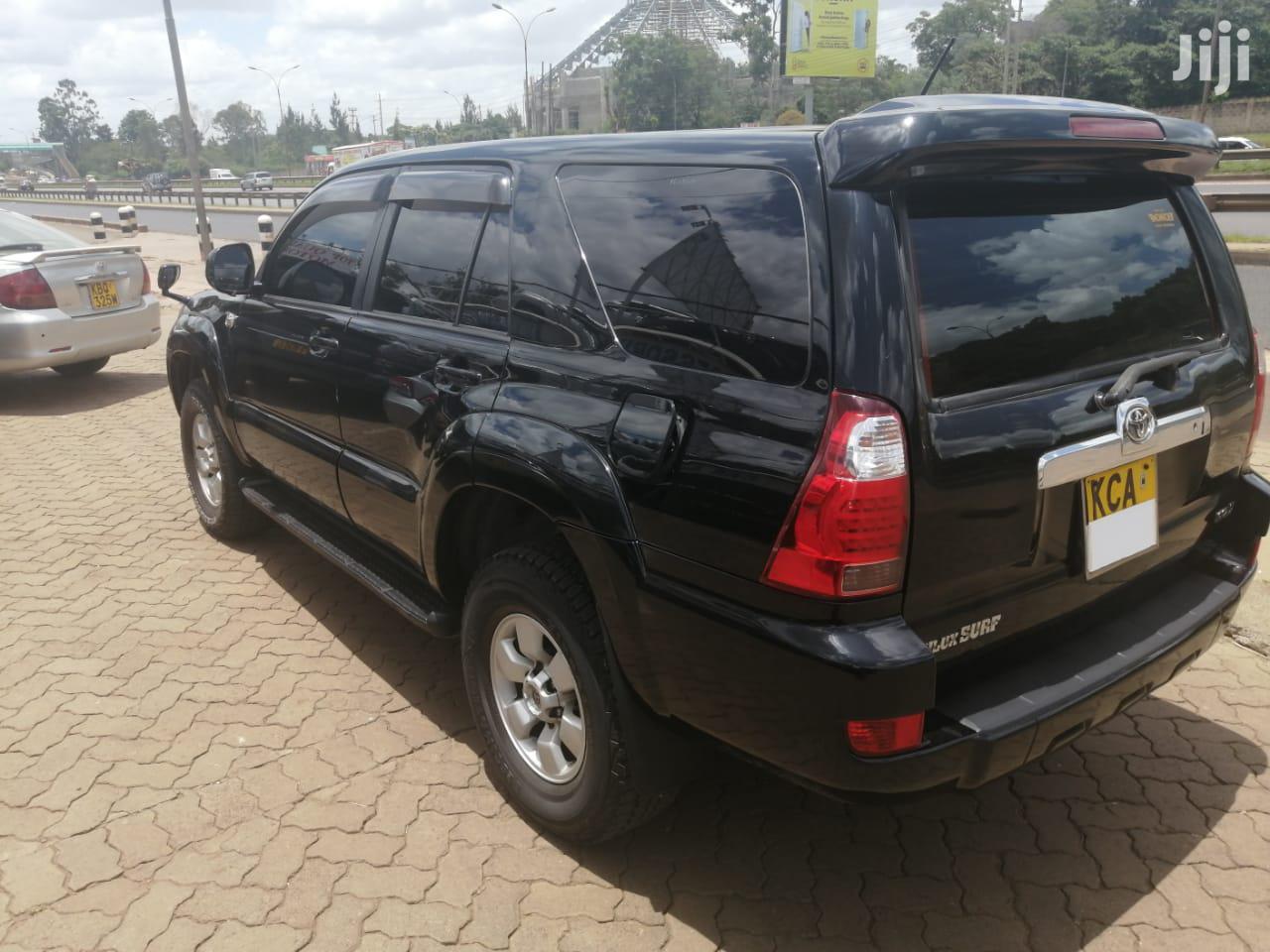 Toyota Surf 2008 Black   Cars for sale in Runda, Nairobi, Kenya
