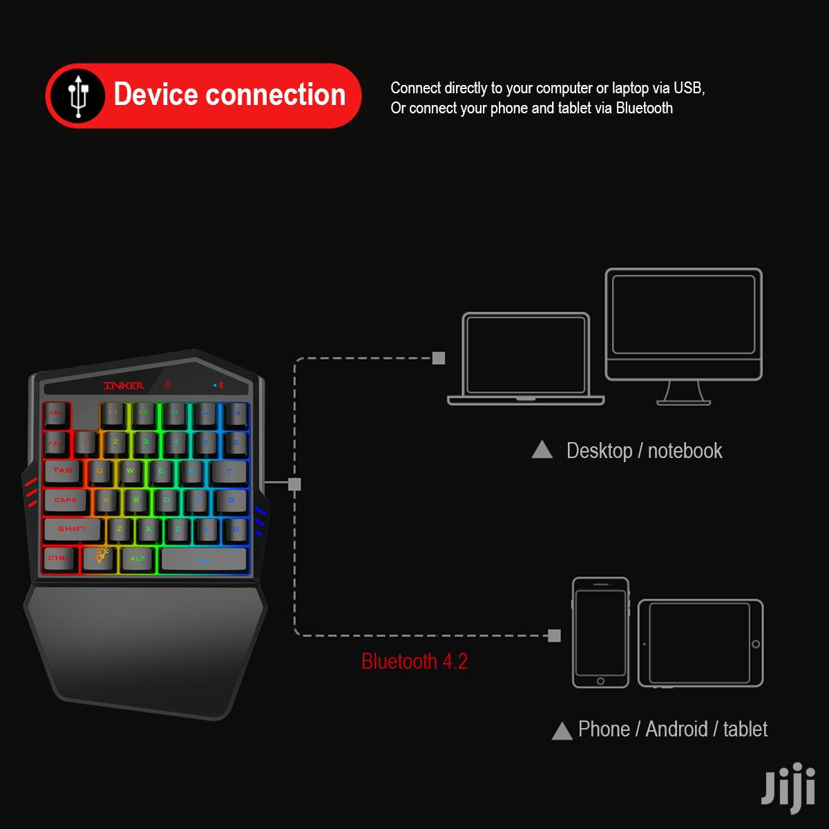 Wireless PUBGG Gaming Keyboard & Mouse Combo For Mobile Phone Game   Computer Accessories  for sale in Nairobi Central, Nairobi, Kenya