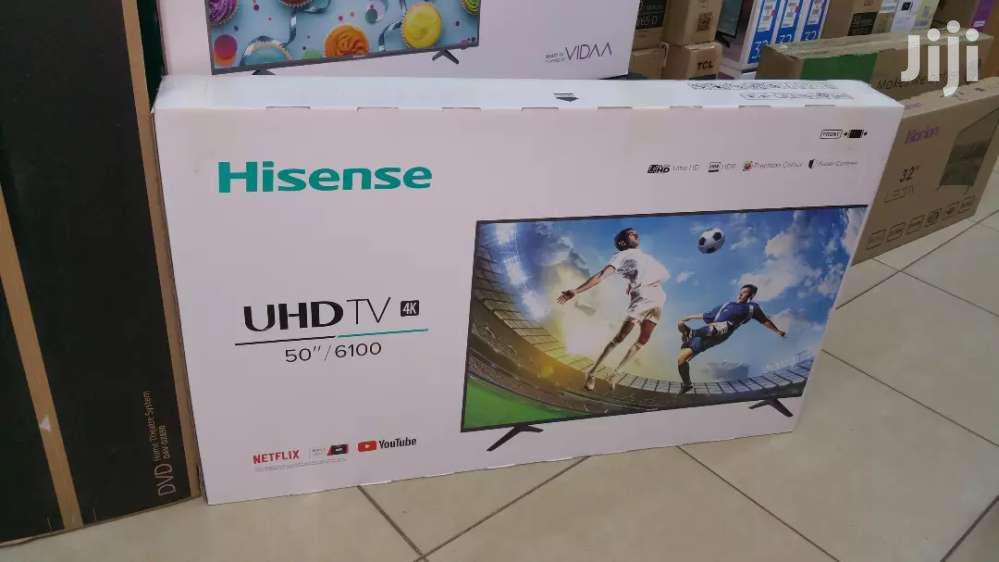 Brand New Hisense 50 Inches UHD 4k Tv