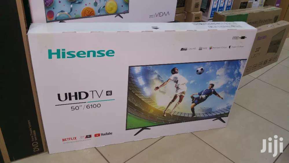 Brand New Hisense 50 Inches UHD 4k Tv   TV & DVD Equipment for sale in Nairobi Central, Nairobi, Kenya