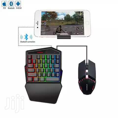 Wireless PUBGG Gaming Keyboard & Mouse Combo For Mobile Phone Game.