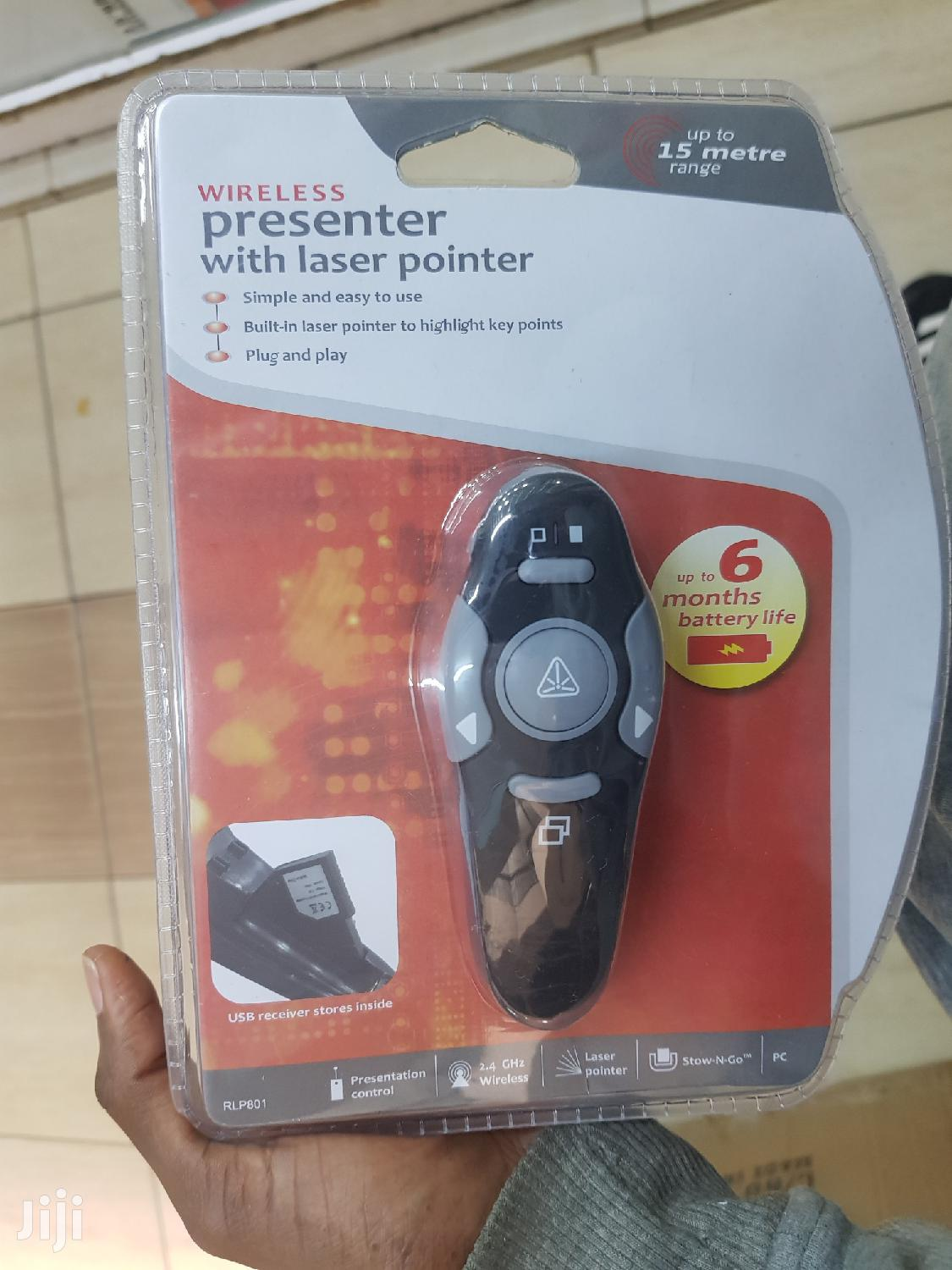Wireless Presenter With Laser Pointer | Accessories & Supplies for Electronics for sale in Nairobi Central, Nairobi, Kenya