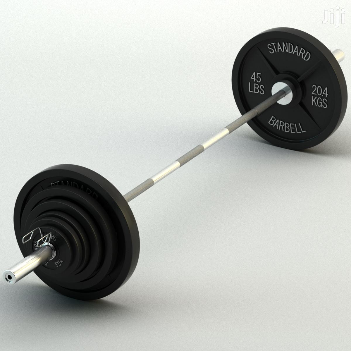 Archive: Gym Olympic Weights and Bars Barbell