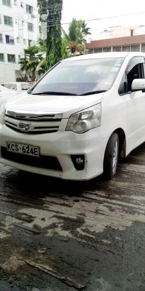 Toyota Noah 2012 White | Cars for sale in Mombasa, Kisauni