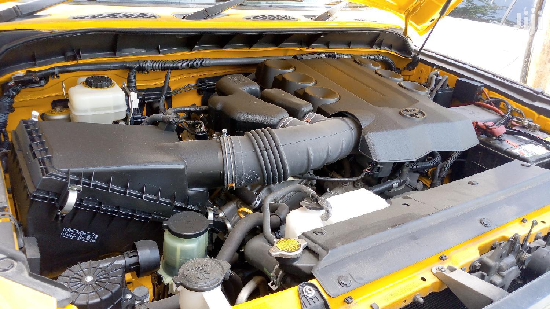 Archive: New Toyota FJ Cruiser 2012 Yellow