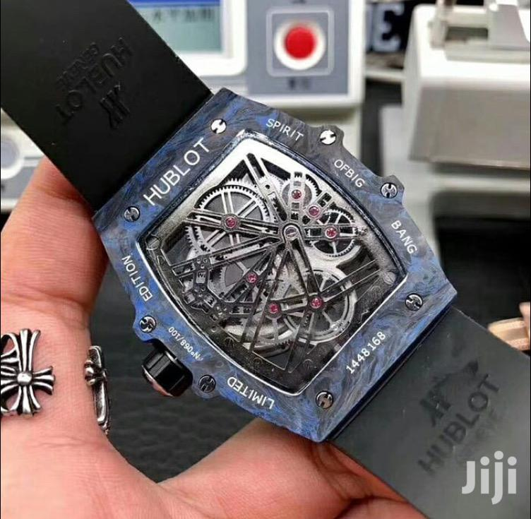 HUBLOT Carbon Fibre Bezel Watch Available on Preorder | Watches for sale in Kileleshwa, Nairobi, Kenya