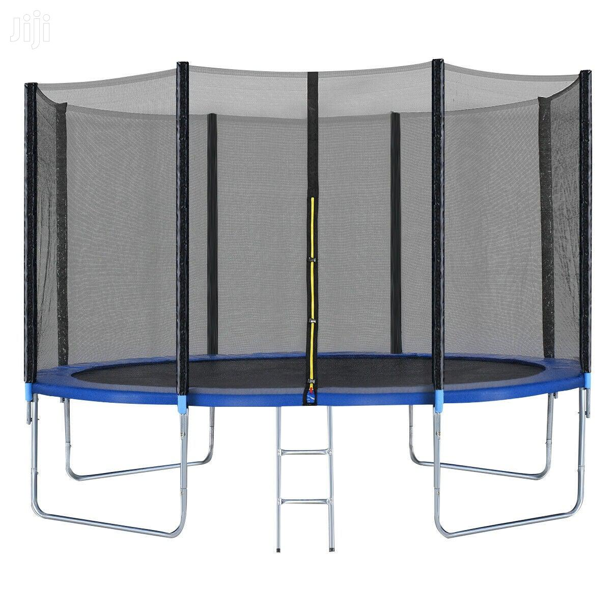 12ft 16ft Trampolines Brand New With Ladder Safety Net