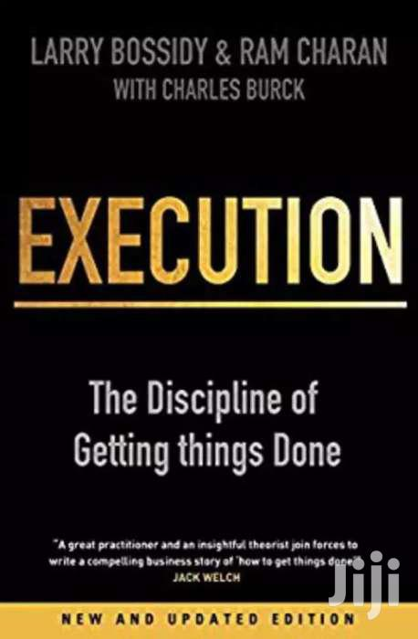 Execution-larry Bossidy And Ram Charan