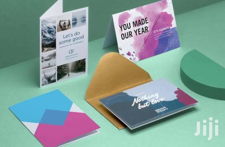 Graphic Design - Cards, Brochures Etc
