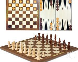 *3 In 1 (Chess, Checkers, Backgammon)-   Books & Games for sale in Nairobi, Nairobi Central