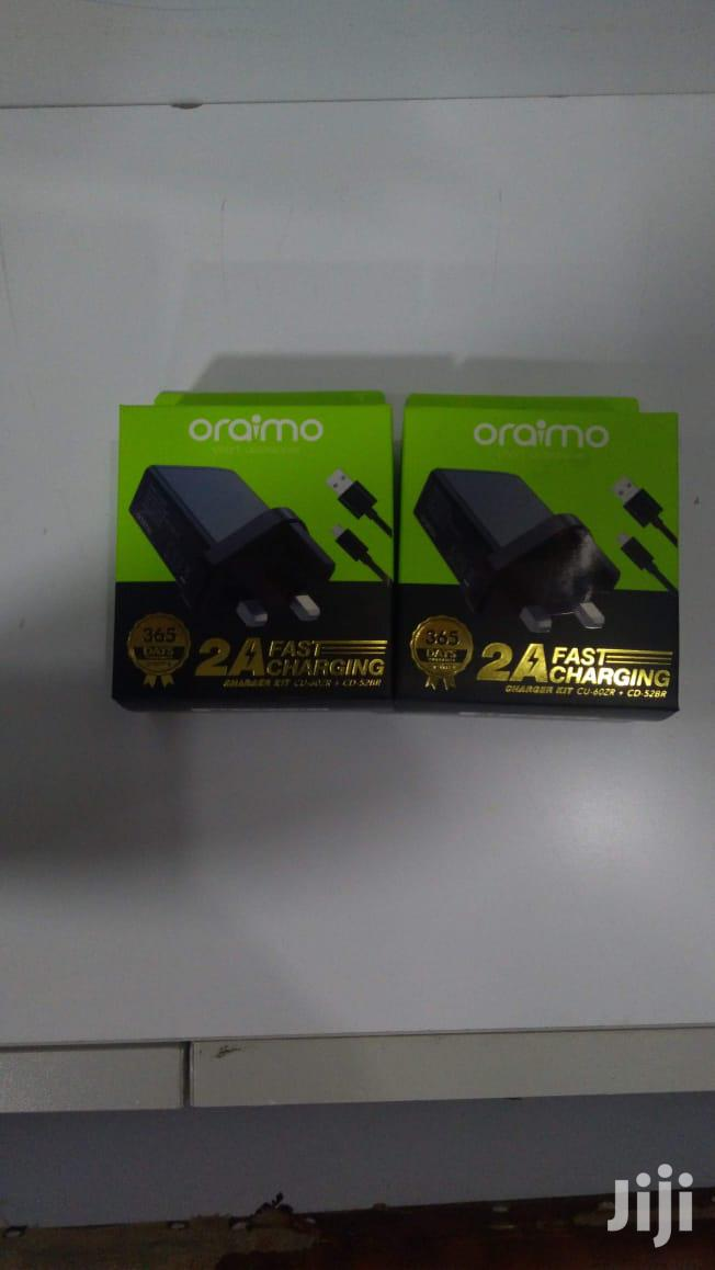 Oraimo Fast Charger | Accessories for Mobile Phones & Tablets for sale in Nairobi Central, Nairobi, Kenya