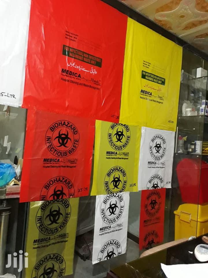 Biohazard Garbage Bags All Colours