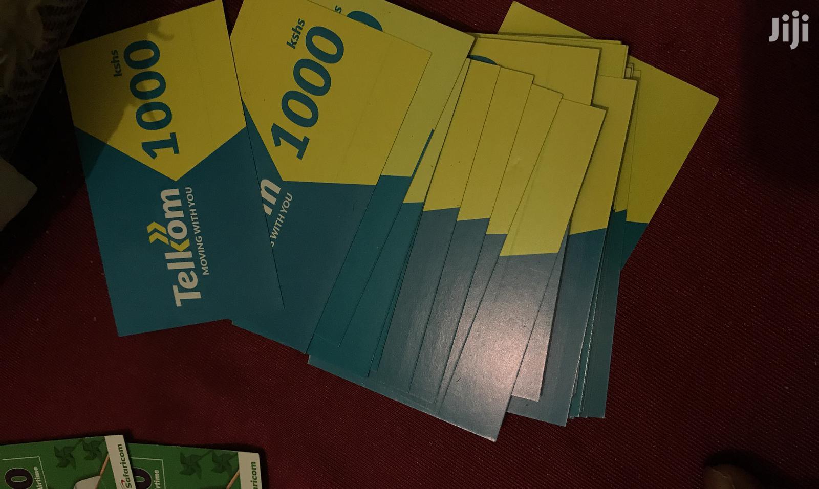 Archive: Safaricom & Telkom Wholesale Scratch Cards