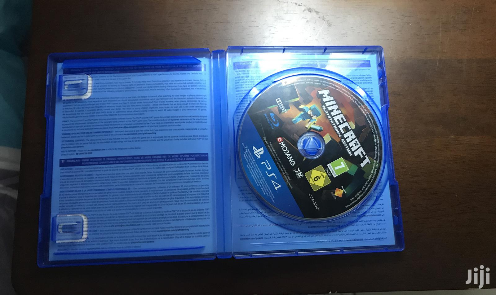 Archive: Minecraft Playstation 4 Edition