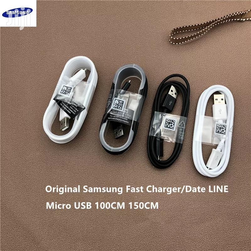 Original Samsung Fast Charger Micro Usb Cable | Accessories for Mobile Phones & Tablets for sale in Nairobi Central, Nairobi, Kenya