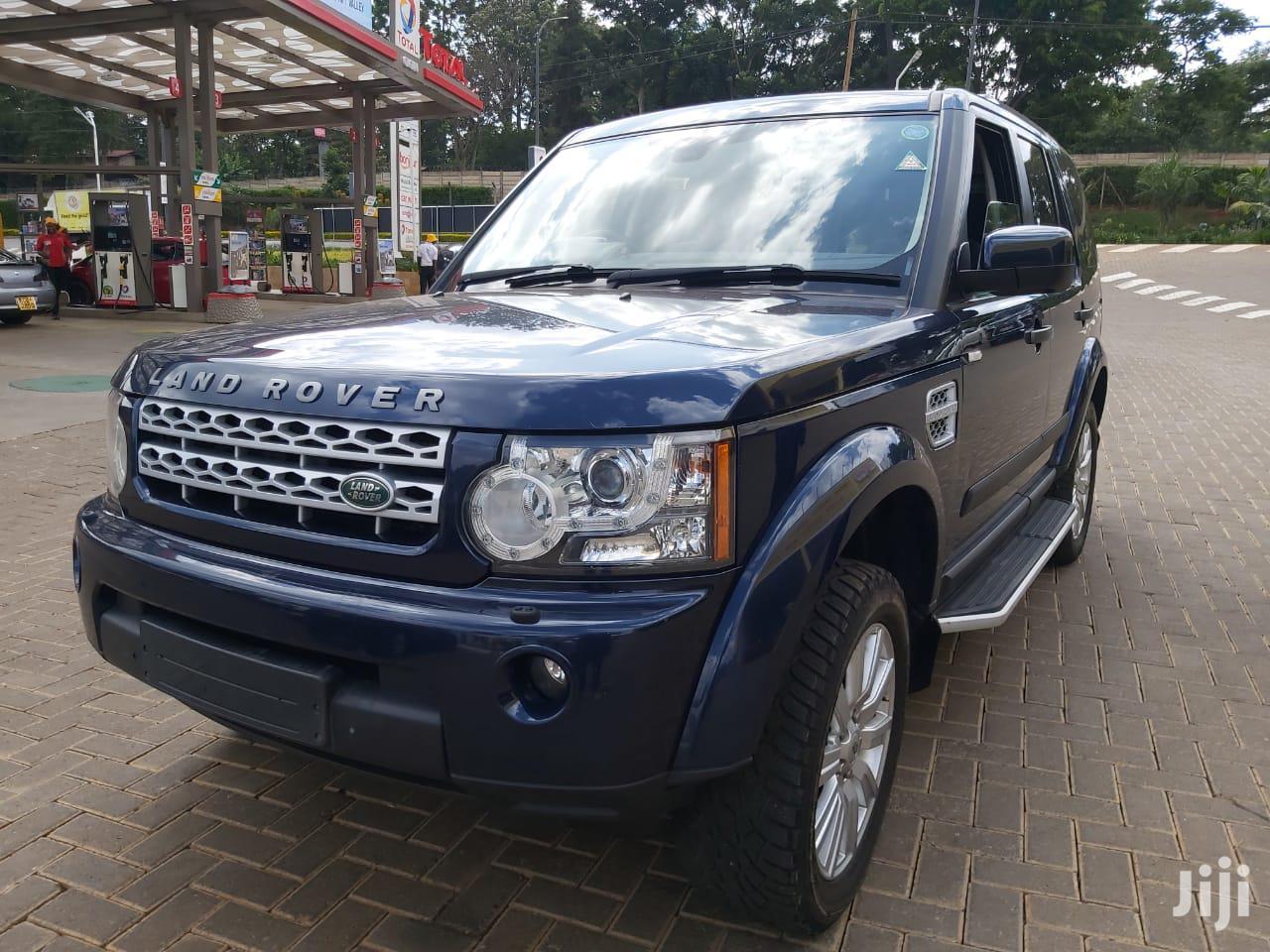 Archive: Land Rover LR4 2013 Blue