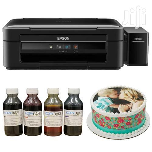 Canon Epson Edible Papers Ink Printing Cake Baking Decor Printer | Printers & Scanners for sale in Nairobi Central, Nairobi, Kenya