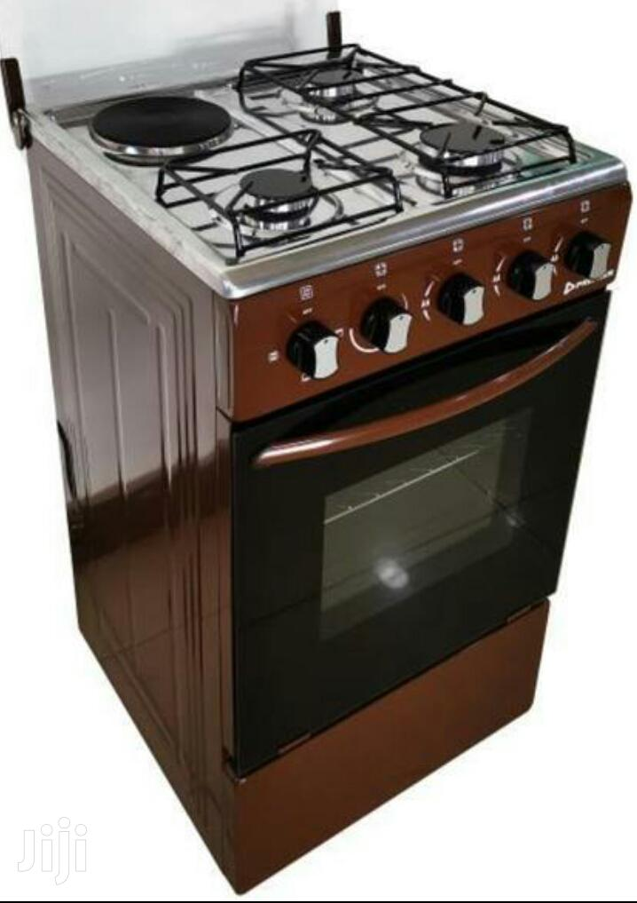 Stand Gas Cooker+ Electric Cooker