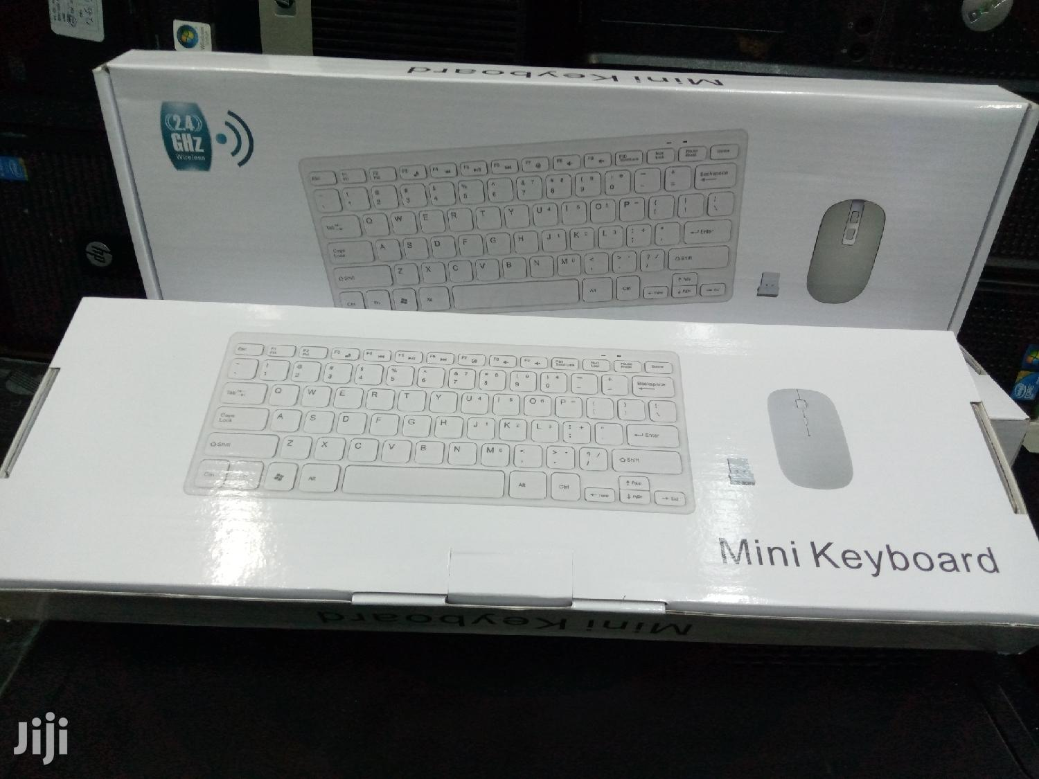 Mini Wireless Keyboard And Mouse | Computer Accessories  for sale in Nairobi Central, Nairobi, Kenya