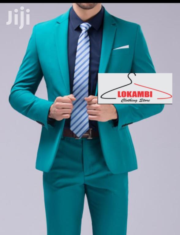 Archive: Green Slim Fit Suit