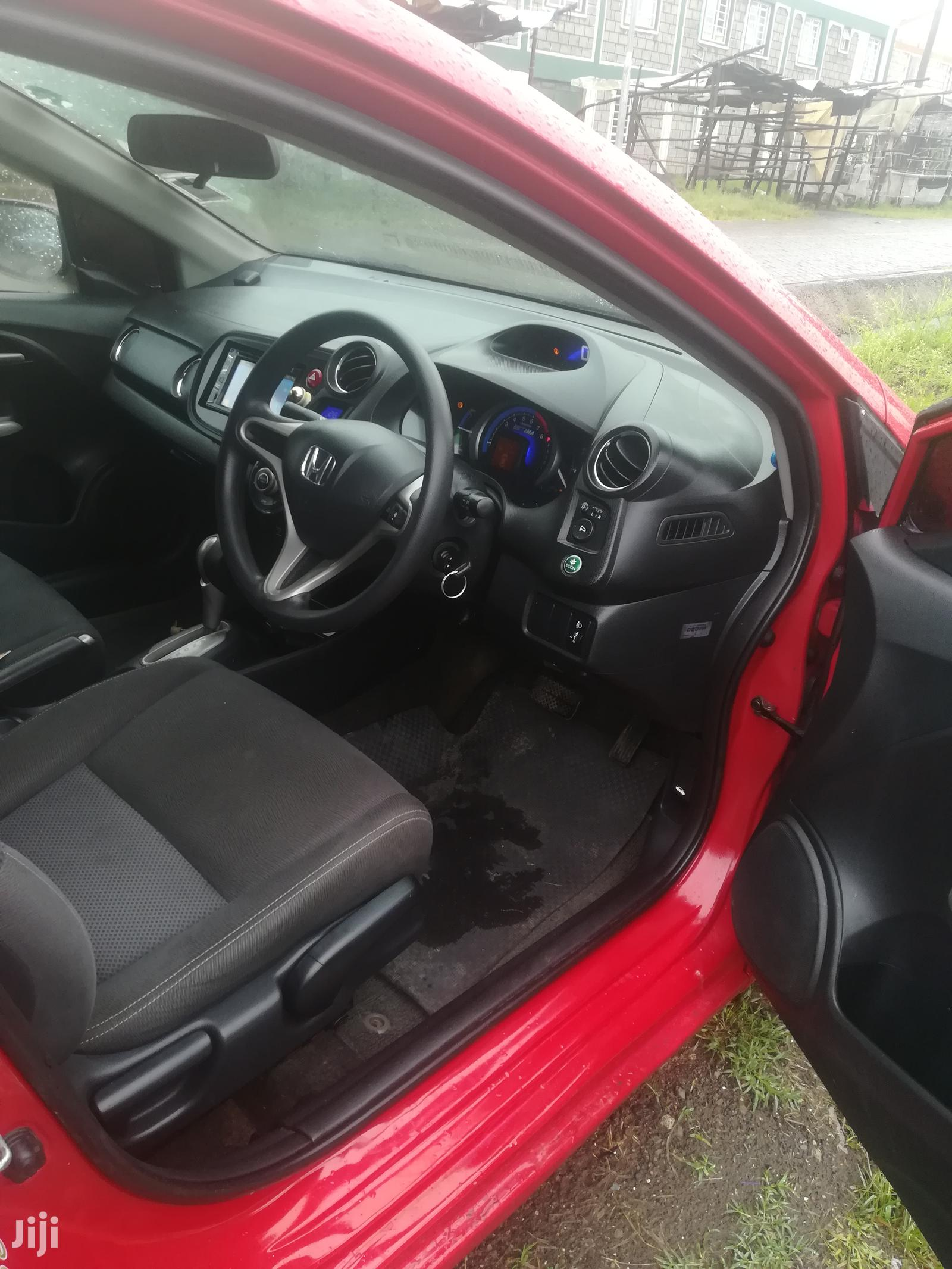 Archive: Honda Insight 2011 Red