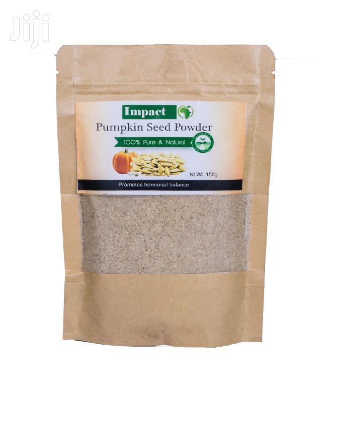 Impacts Pumpkin Seeds Powder - 400gm | Feeds, Supplements & Seeds for sale in Nairobi Central, Nairobi, Kenya