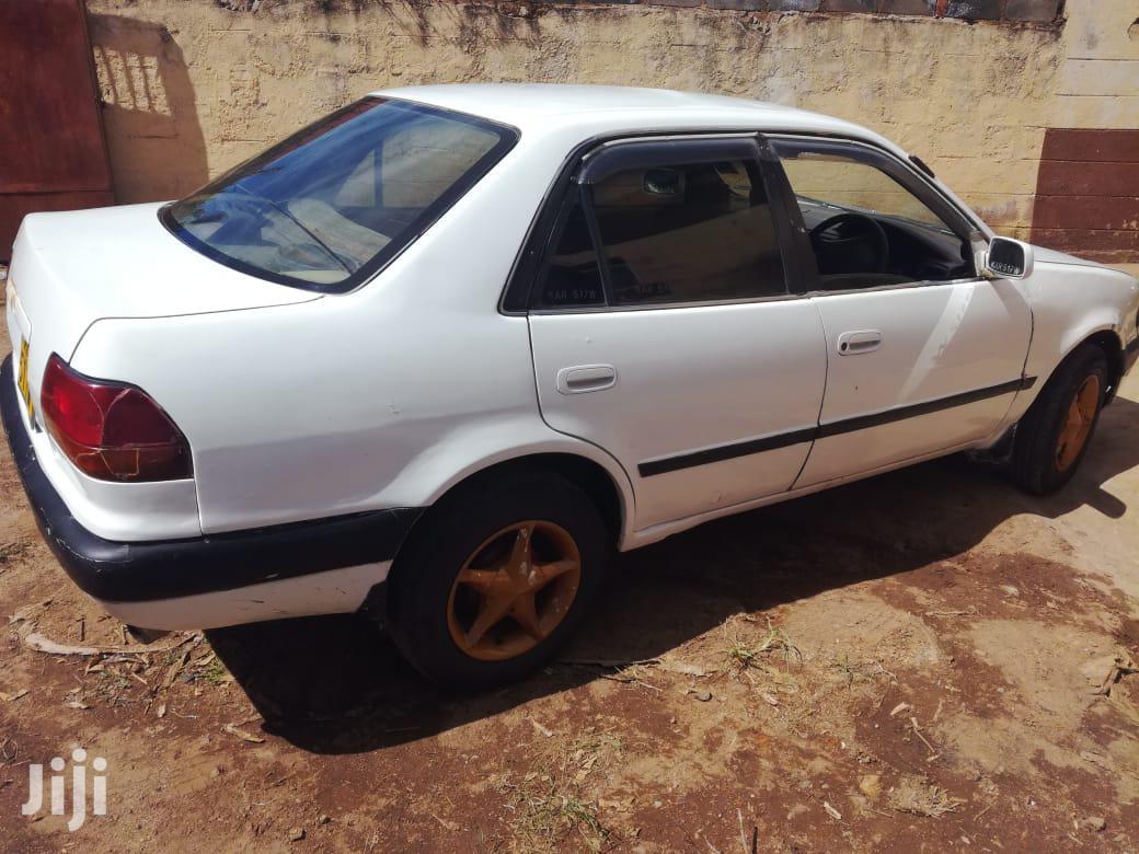 Archive: Toyota Corolla 2002 White