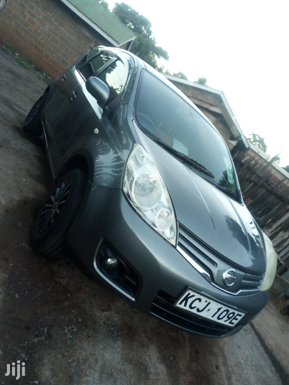 Nissan Note 2009 1.4 Gray | Cars for sale in Theta, Kiambu, Kenya