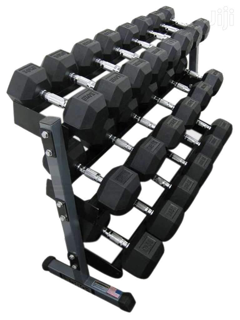 Gym Hex Dumbbells Brand New