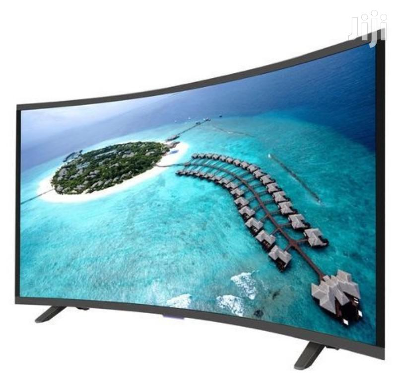 """Vision Plus VP8843C FHD Smart Curved, Android LED TV - Black 43"""""""