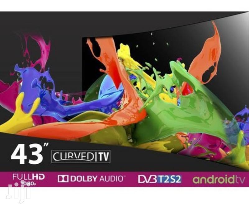 "Vision Plus VP8843C FHD Smart Curved, Android LED TV - Black 43"" | TV & DVD Equipment for sale in Nairobi Central, Nairobi, Kenya"